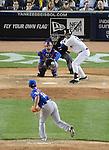 Daisuke Matsuzaka (Mets), Derek Jeter (Yankees),<br /> MAY 13, 2014 - MLB :<br /> Daisuke Matsuzaka of the New York Mets pitches to Derek Jeter of the New York Yankees in the sixth inning during the Major League Baseball game at Yankee Stadium in Bronx, New York, United States. (Photo by AFLO)