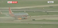 13/05/09 Fireball as plane lands
