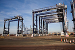Container cranes, Port of Felixstowe, Suffolk, England
