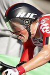 Carl Fredrik Hagen (NOR) Lotto-Soudal in action during Stage 10 of La Vuelta 2019 an individual time trial running 36.2km from Jurancon to Pau, France. 3rd September 2019.<br /> Picture: Luis Angel Gomez/Photogomezsport | Cyclefile<br /> <br /> All photos usage must carry mandatory copyright credit (© Cyclefile | Luis Angel Gomez/Photogomezsport)