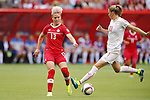 Sophie Schmidt (CAN), JUNE 21, 2015 - Football / Soccer : <br /> FIFA Women's World Cup Canada 2015 Round of 16 match between Canada 1-0 Switzerland at BC Place Stadium, <br /> Vancouver, Canada. (Photo by Yusuke Nakansihi/AFLO SPORT)