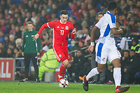 Tom Lawrence of Wales during the International Friendly match between Wales and Panama at the Cardiff City Stadium, Cardiff, Wales on 14 November 2017. Photo by Mark Hawkins.