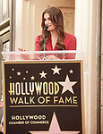 Idina Menzel, 058 ,  Kristen Bell And Idina Menzel  Honored With Stars On The Hollywood Walk Of Fame on November 19, 2019 in Hollywood, California