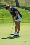 April 14, 2015; Ventura, CA, USA; Pepperdine Waves golfer Marissa Chow during the WCC Golf Championships at Saticoy Country Club.