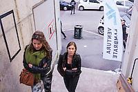 Milano 13-04-2013: visitatori nella zona Ventura Lambrate durante il Salone del Mobile 2013..Milan: visitors at Ventura Lambrate zone during the Milan Design Week 2013