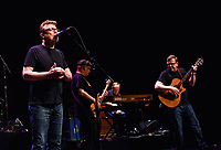 21 September 2018 - Hamilton, Ontario, Canada.  Twin brothers Charlie Reid and Craig Reid of Scottish folk/rock duo The Proclaimers perform on stage during their Canadian Tour at the FirstOntario Concert Hall.   <br /> CAP/ADM/BPC<br /> ©BPC/ADM/Capital Pictures
