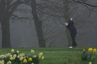 Aaron Marshall (Lisburn GC) during the final round of the Peter McEvoy Trophy played at Copt Heath Golf Club, Solihull, England. 12/04/2018.<br /> Picture: Golffile | Phil Inglis<br /> <br /> <br /> All photo usage must carry mandatory copyright credit (&copy; Golffile | Phil Inglis)