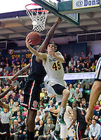Cody Doolin of USF shoots the ball during the game against St. John's at War Memorial Gym in San Francisco, California on December 4th, 2012.   USF Dons defeated St. John's, 81-65.