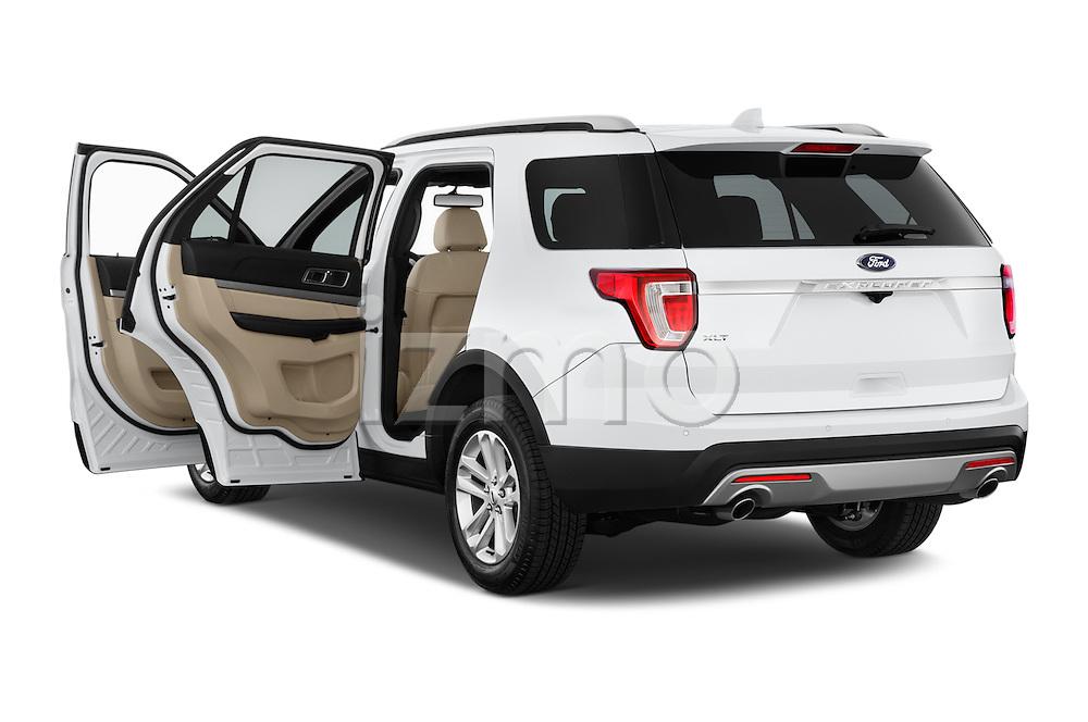 Car images of a 2017 Ford Explorer XLT 4 Door SUV Doors
