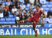 9th September 2017, Madejski Stadium, Reading, England; EFL Championship football, Reading versus Bristol City; Bobby Reid of Bristol City controls the ball