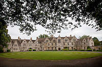 Begun in 1909, Rodmarton Manor is one of the last country houses to be built using the traditoinal Arts and Crafts ideals with local crafts people and local materials