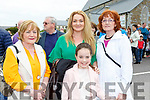 Breda Somers, Louise and Lola Bell Mahony and Kitty O'Sullivan at the Patrick O'Connor memorial plaque ceremony in Rathmore on Sunday