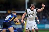 Stuart Hooper of Bath Rugby. Aviva Premiership match, between Worcester Warriors and Bath Rugby on February 13, 2016 at Sixways Stadium in Worcester, England. Photo by: Patrick Khachfe / Onside Images