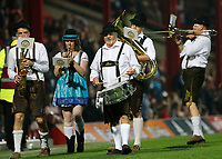 Brentford FC celebrate Oktoberfest during the Sky Bet Championship match between Brentford and Derby County at Griffin Park, London, England on 26 September 2017. Photo by Carlton Myrie / PRiME Media Images.
