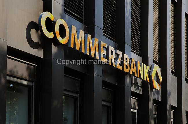 Commerzbank branch, located Potsdamer Straße 125, 10783 Berlin, Germany. Picture by Manuel Cohen