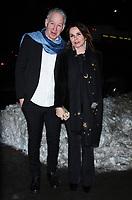 NEW YORK, NY - JANUARY 11: John McEnroe, Patty Smyth, arriving at the IFC Films premiere of Freak Show at the Landmark Sunshine Cinema in New York City on January 10, 2018. Credit: RW/MediaPunch