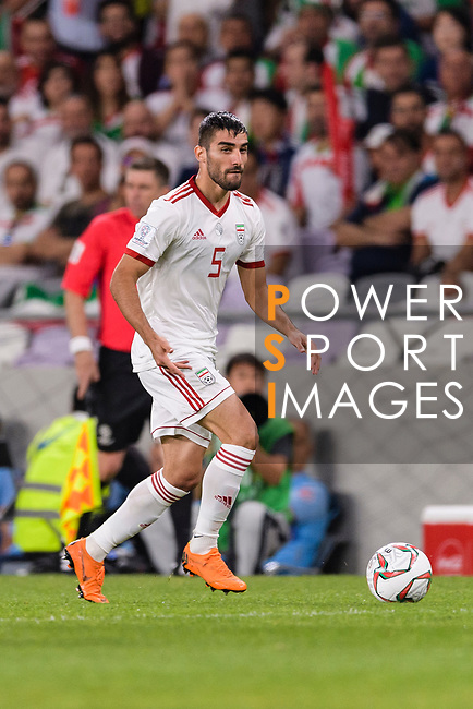 Milad Mohammadikeshmarzi of Iran in action during the AFC Asian Cup UAE 2019 Semi Finals match between I.R. Iran (IRN) and Japan (JPN) at Hazza Bin Zayed Stadium  on 28 January 2019 in Al Alin, United Arab Emirates. Photo by Marcio Rodrigo Machado / Power Sport Images