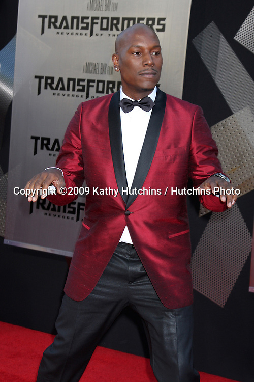"Tyrese Gibson arriving at the ""Transformers: Revenge of the Fallen"" Premiere at the Mann's Village Theater in Westwood, CA  on June 22, 2009.  .©2009 Kathy Hutchins / Hutchins Photo"
