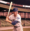 Chicago Cubs Ron Santo (10) portrait from his 1962 season with the Chicago Cubs. Ron Santo played for 15 years with 2 different teams, was a 9-time All-Star, and was inducted to the Baseball Hall of Fame in 2012.