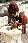 Israel, Galilee, Nazareth Village, recreating Nazareth in the time of Jesus, the water well