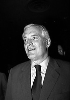 John Turner<br />  attend the Liberal Party of Canada  leadership debate, at the Queen Elizabeth Hotel,April 13, 1984