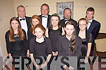 Memebers of Kerry School of Music who preformed in Glorach Studio in Abbeyfeale last Saturday night. B l-r Pierce Heaslip, Noel Heaslip, Noel King, Keith Freeman. M l-r Suzanne Quill, Aisling Enright, Amy Stone, Deirdre Glavin. F l-r Caoimhe Glavin, Catherine Harper.