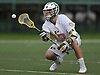 Matty Beccaris #13 of LIU Post catches a pass during the the ECC men's lacrosse championship against New York Institute of Technology at LIU Post on Saturday, May 7, 2016. He recorded two assists in Post's 12-11 win.
