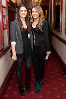 "NO REPRO FEE. 17/1/2010. The Field opening night. Lis Bennett and Ellen Bennett are pictured at the Olympia Theatre for the opening night of John B Keanes 'The Field"" Picture James Horan/Collins"