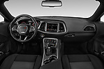 Stock photo of straight dashboard view of a 2019 Dodge challenger SXT 2 Door Coupe