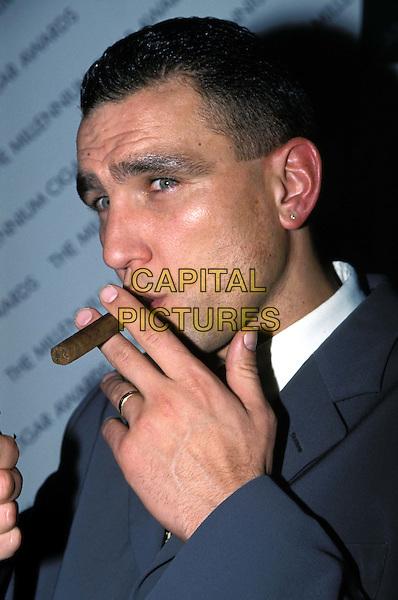 VINNIE JONES..Ref:9165..cigar, smoking, football, profile..www.capitalpictures.com..sales@capitalpictures.com..©Capital Pictures..headshot, portrait