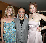 Leslie Hendrix, Scott C. Embler & Gretchen Hall.pictured at the Opening Night After Party for '7th Monarch' at Angus McIndoe Restaurant  in New York City on June 24, 2012.