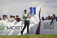 Haydn Porteous (RSA) on the 11th tee during Round 4 of the D+D Real Czech Masters at the Albatross Golf Resort, Prague, Czech Rep. 03/09/2017<br /> Picture: Golffile   Thos Caffrey<br /> <br /> <br /> All photo usage must carry mandatory copyright credit     (&copy; Golffile   Thos Caffrey)