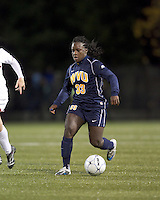 "West Virginia forward Bry McCarthy (33). Boston College defeated West Virginia, 4-0, in NCAA tournament ""Sweet 16"" match at Newton Soccer Field, Newton, MA."