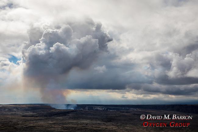 Kilauea Volcano Caldera