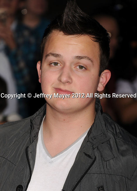 LOS ANGELES, CA - FEBRUARY 22: Noah Munck attends the 'John Carter' Los Angeles premiere held at the Regal Cinemas L.A. Live on February 22, 2012 in Los Angeles, California.