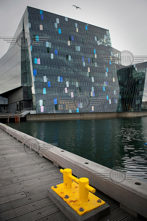 The Harpa Reykjavik Concert Hall and Conference Centre, part of the East Harbour Project.