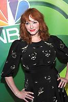 NEW YORK, NY - MAY 13: Christina Hendricks at the NBC 2019 Upfront Presentation at the Four Seasons Hotel in New York City on May 13, 2019. <br /> CAP/MPI/JP<br /> &copy;JP/MPI/Capital Pictures