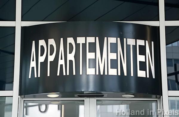 Nederland Rotterdam 2017 . Appartementen.  . Foto Berlinda van Dam / Hollandse Hoogte