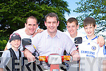 Mark Fitzgerald, Paudie Fitzgerald, Tom Sheahan TD, Conor Kitzgerald and Tomas Sheahan Jnr Killarney having fun at the Honda 50 Ring of Kerry rally in Killarney on Saturday    Copyright Kerry's Eye 2008