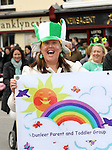 Barbara Landy from Dunleer Parent and Toddler Group at the 2011 St.Patrick's Day Parade in Dunleer...(Photo credit should read Jenny Matthews/www.newsfile.ie)....This Picture has been sent you under the conditions enclosed by:.Newsfile Ltd..The Studio,.Millmount Abbey,.Drogheda,.Co Meath..Ireland..Tel: +353(0)41-9871240.Fax: +353(0)41-9871260.GSM: +353(0)86-2500958.email: pictures@newsfile.ie.www.newsfile.ie.