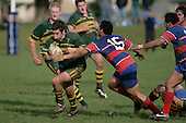 P. Ivamy. Counties Manukau Premier McNamara Cup Semi Final rugby game between Pukekohe & Ardmore Marist, played at  Colin Lawrie Fields Pukekohe on 28th July 2007. Pukekohe won 30 - 10.