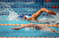 Emma Robinson, 400m Free. Swimming New Zealand National Short Course Championships, National Aquatic Centre, New Zealand, Wednesday 3rd October 2018. Photo: Simon Watts/www.bwmedia.co.nz