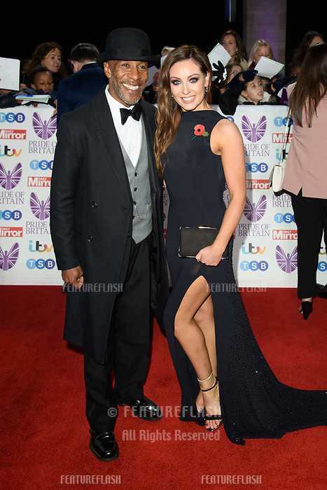 LONDON, UK. October 29, 2018: Danny John Jules at the Pride of Britain Awards 2018 at the Grosvenor House Hotel, London.<br /> Picture: Steve Vas/Featureflash