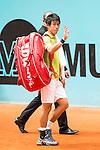 Japanese Kei Nishikori during Mutua Madrid Open Tennis 2016 in Madrid, May 05, 2016. (ALTERPHOTOS/BorjaB.Hojas)