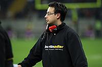 Head Coach Shuan Fatah (Berlin)<br /> German Bowl XXXI Berlin Adler vs. Kiel Baltic Hurricanes, Commerzbank Arena *** Local Caption *** Foto ist honorarpflichtig! zzgl. gesetzl. MwSt. Auf Anfrage in hoeherer Qualitaet/Aufloesung. Belegexemplar an: Marc Schueler, Alte Weinstrasse 1, 61352 Bad Homburg, Tel. +49 (0) 151 11 65 49 88, www.gameday-mediaservices.de. Email: marc.schueler@gameday-mediaservices.de, Bankverbindung: Volksbank Bergstrasse, Kto.: 151297, BLZ: 50960101