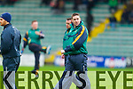 Darragh O'Se manager of the Kerry Team who played IT Tralee in the McGrath cup at Austin Stack Park on Sunday.