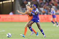 Houston, TX - Saturday June 15, 2019: NWSL regular season match between the Houston Dash and the Orlando Pride at BBVA Stadium.