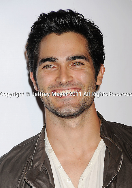 HOLLYWOOD, CA - SEPTEMBER 23: Tyler Hoechlin arrives at the 9th Annual Teen Vogue Young Hollywood Party at Paramount Studios on September 23, 2011 in Hollywood, California.