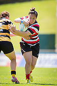 Womens Provincial Championship rugby game between Counties Manukau Heat and Taranaki, played at ECOLight Stadium, Pukekohe, on Saturday October 19th 2013. The Counties Manukau Heat won the game 72 - 7 after leading 31 - 7 at half tme.