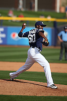 Frank Garces - San Diego Padres 2016 spring training (Bill Mitchell)